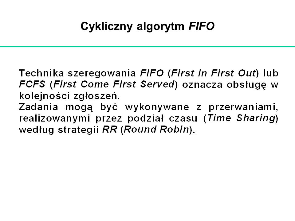 Cykliczny algorytm FIFO