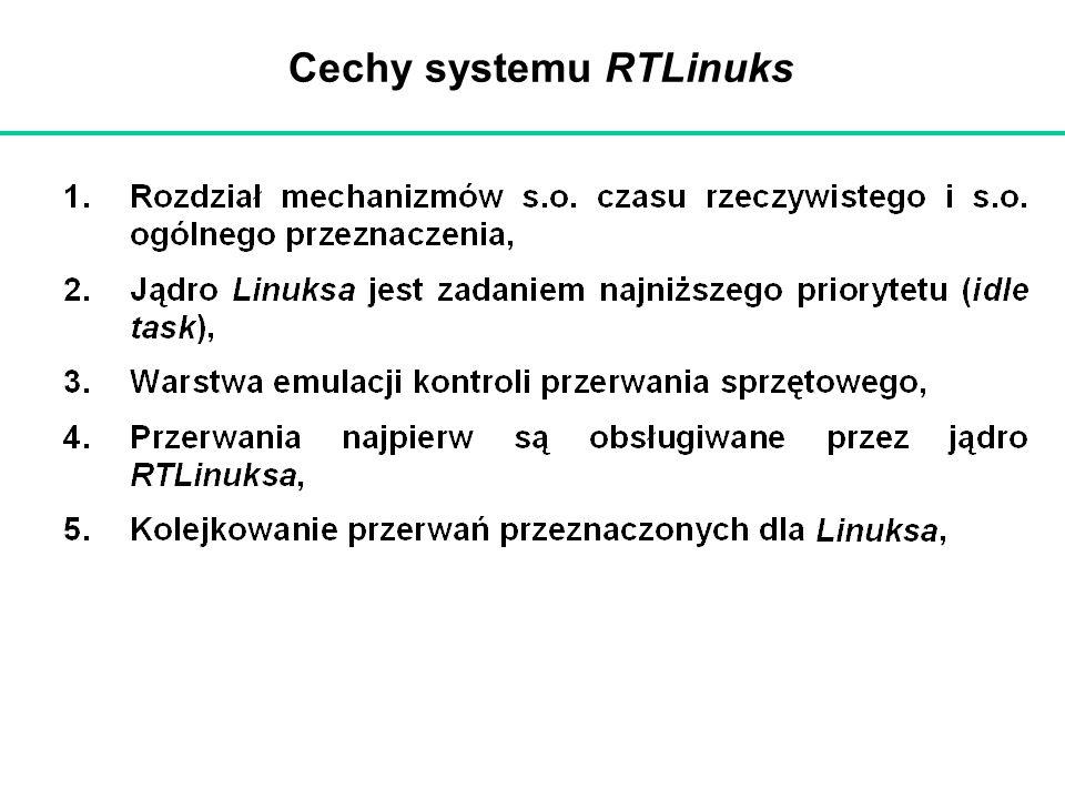 Cechy systemu RTLinuks