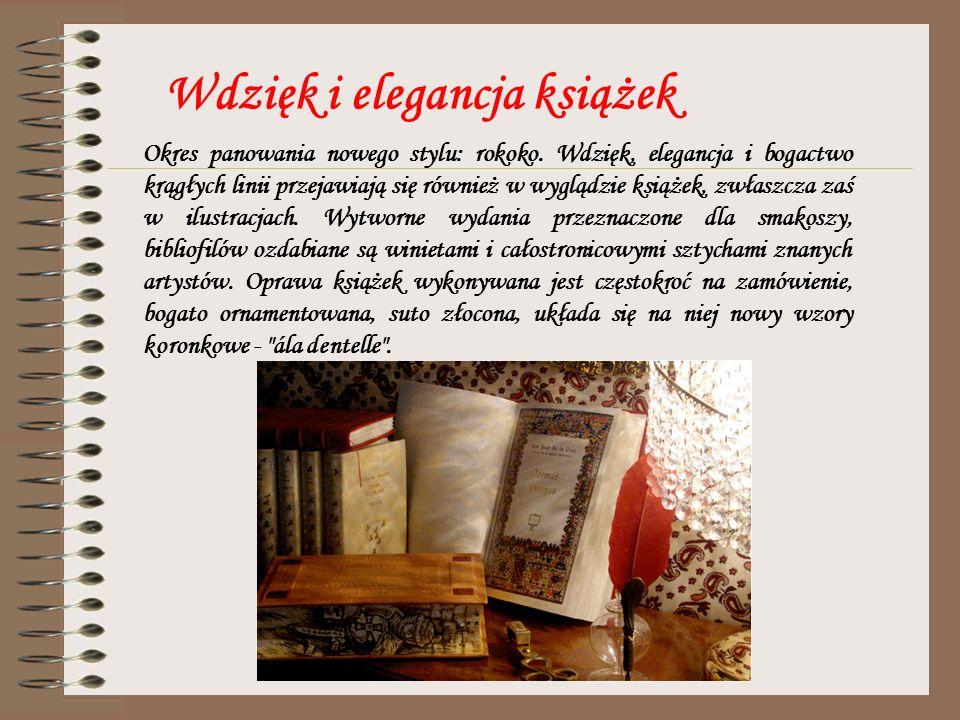 Wdzięk i elegancja książek