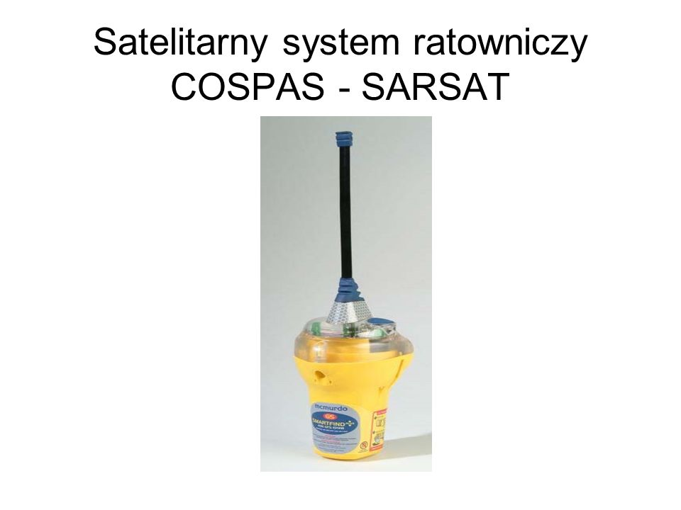 Satelitarny system ratowniczy COSPAS - SARSAT