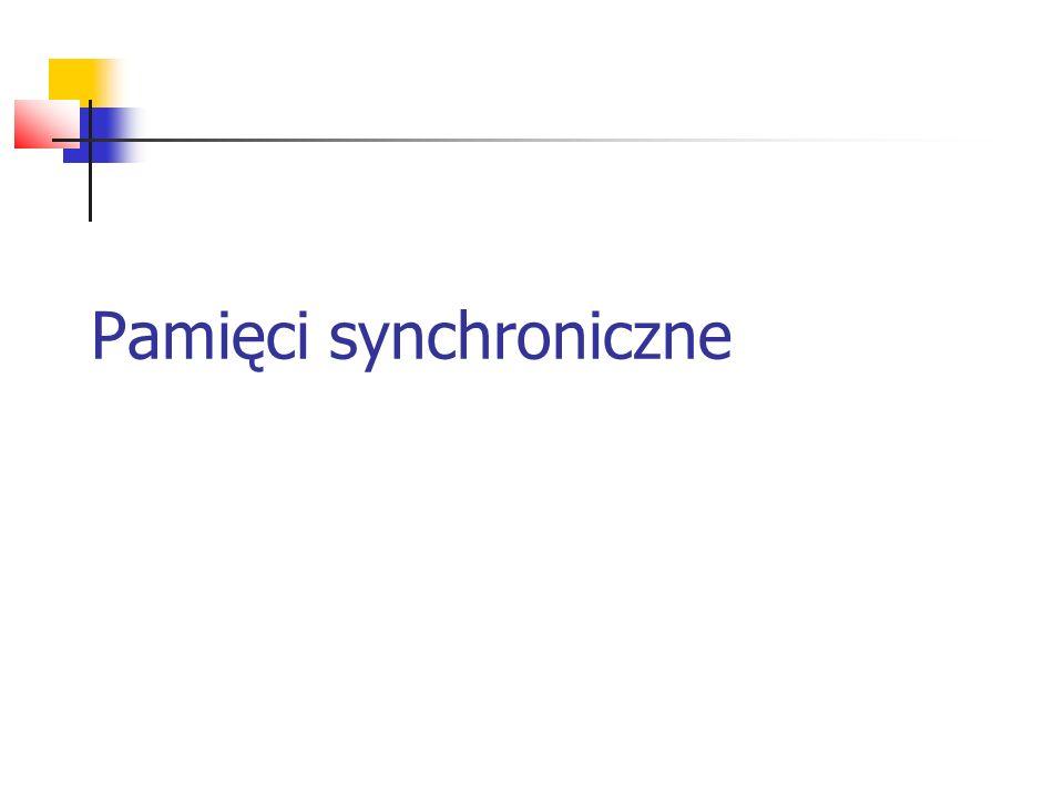Pamięci synchroniczne