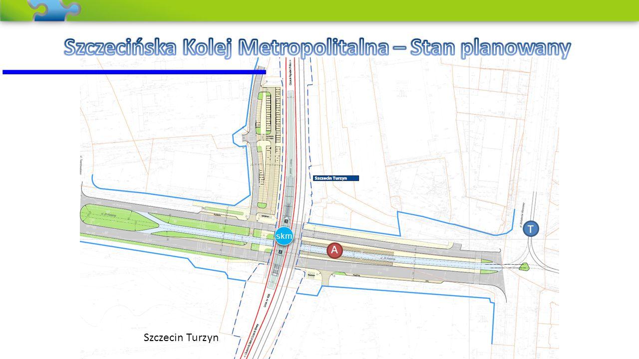 Szczecińska Kolej Metropolitalna – Stan planowany