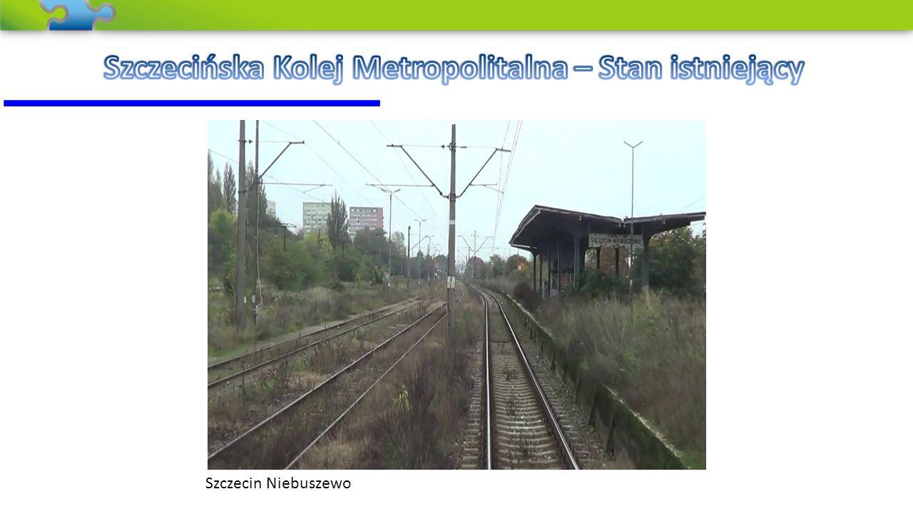 Szczecińska Kolej Metropolitalna – Stan istniejący