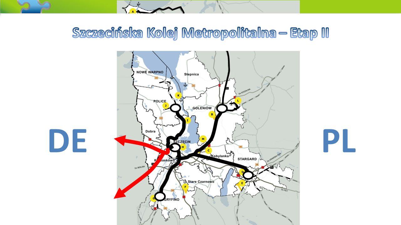 Szczecińska Kolej Metropolitalna – Etap II