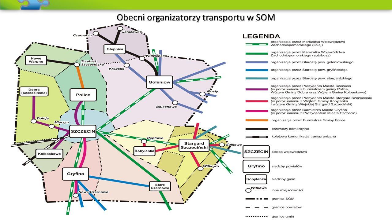 Publiczny Transport Zbiorowy na całym obszarze SOM