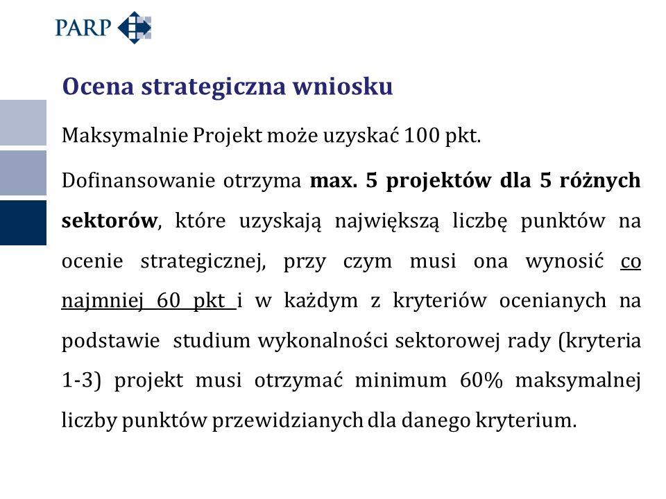Ocena strategiczna wniosku