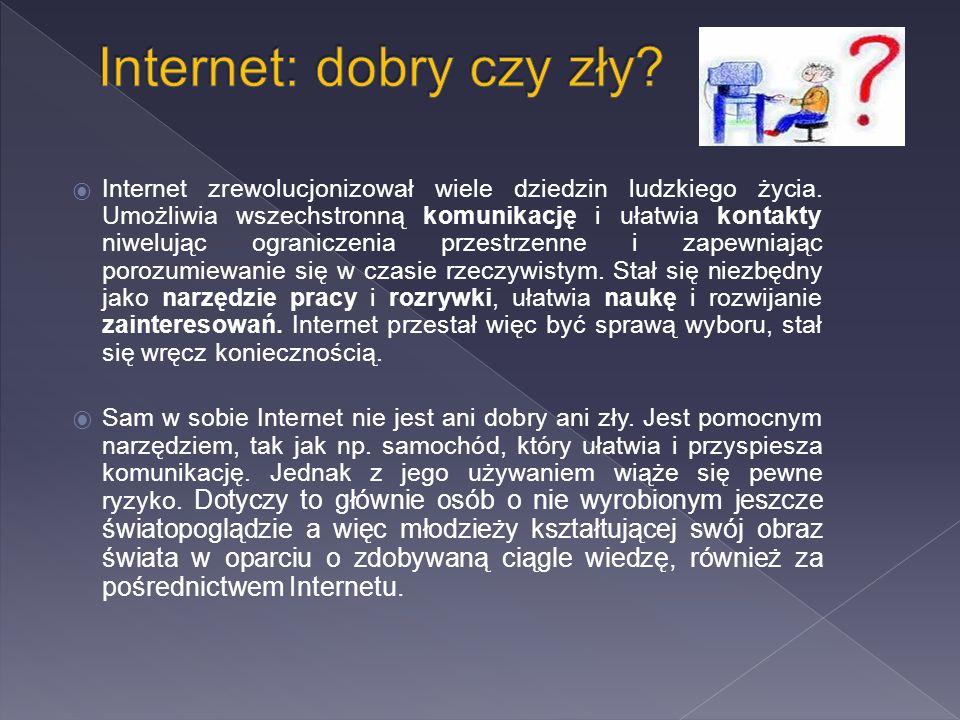 Internet: dobry czy zły