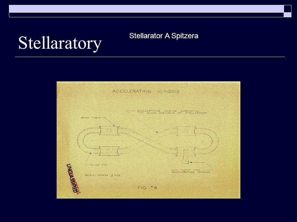 Stellaratory Stellarator A Spitzera