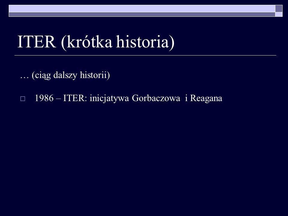 ITER (krótka historia)