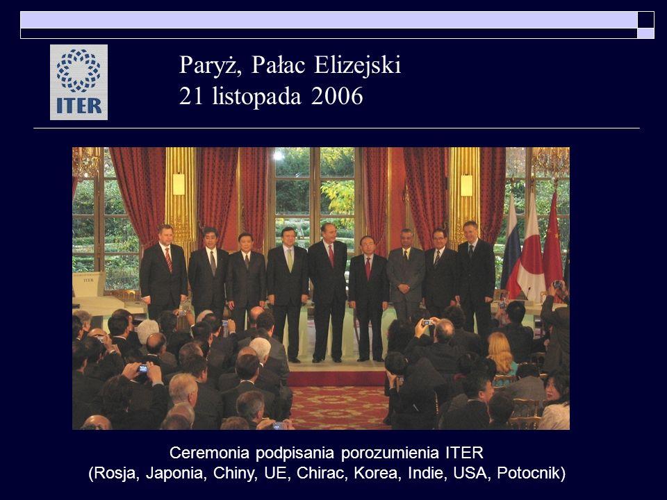 Paryż, Pałac Elizejski 21 listopada 2006