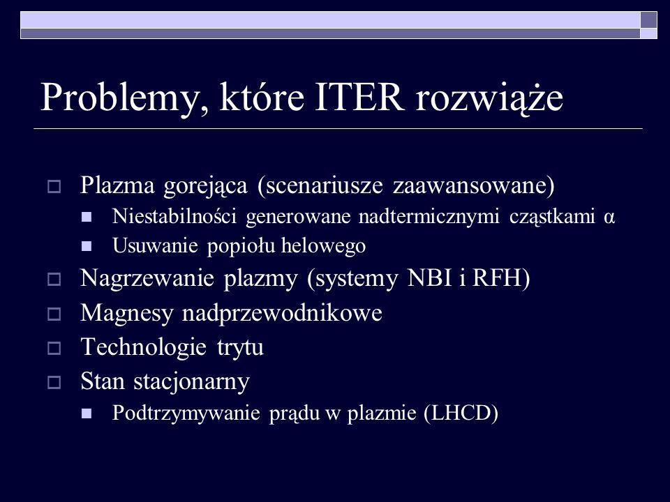 Problemy, które ITER rozwiąże