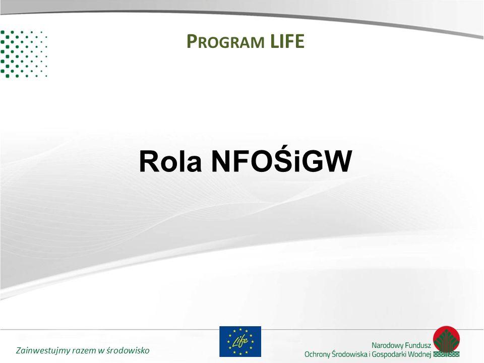 Program LIFE Rola NFOŚiGW
