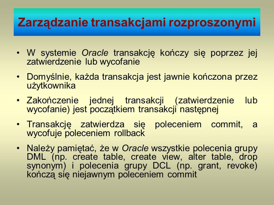 Zarządzanie transakcjami rozproszonymi