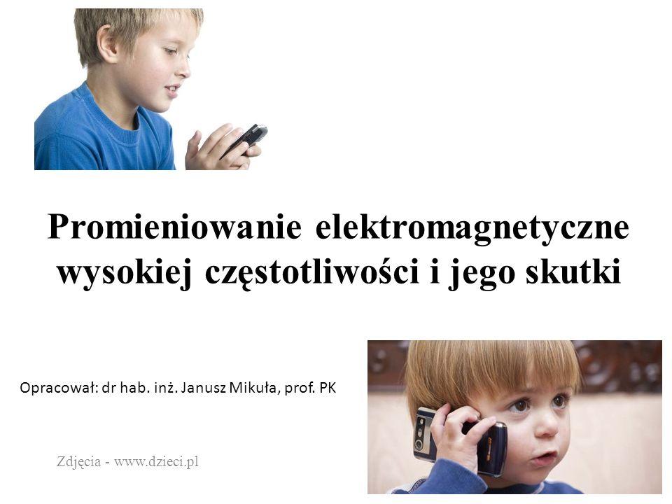 Promieniowanie elektromagnetyczne wysokiej częstotliwości i jego skutki