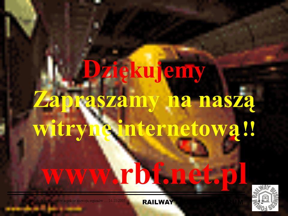 Dziękujemy Zapraszamy na naszą witrynę internetową !! www.rbf.net.pl