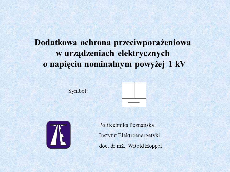 Dodatkowa ochrona przeciwporażeniowa w urządzeniach elektrycznych