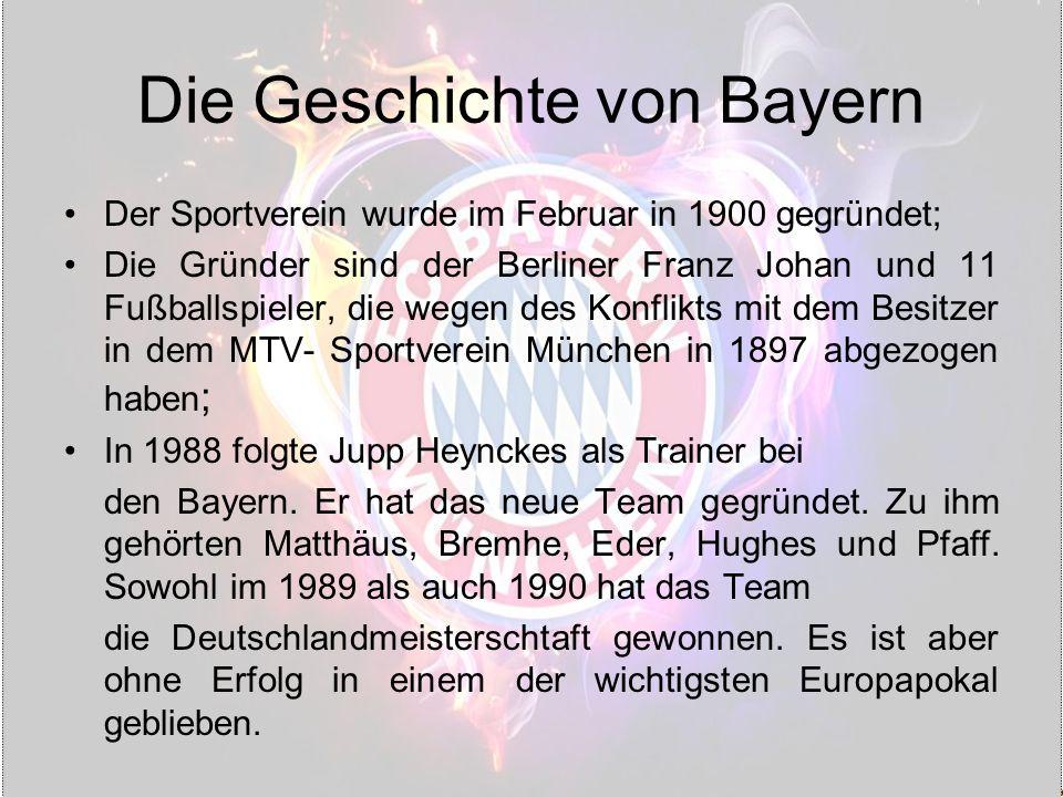 Die Geschichte von Bayern
