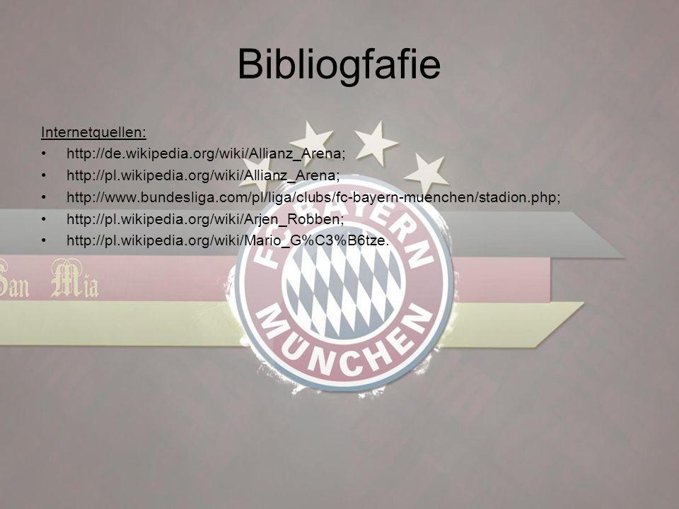 Bibliogfafie Internetquellen: