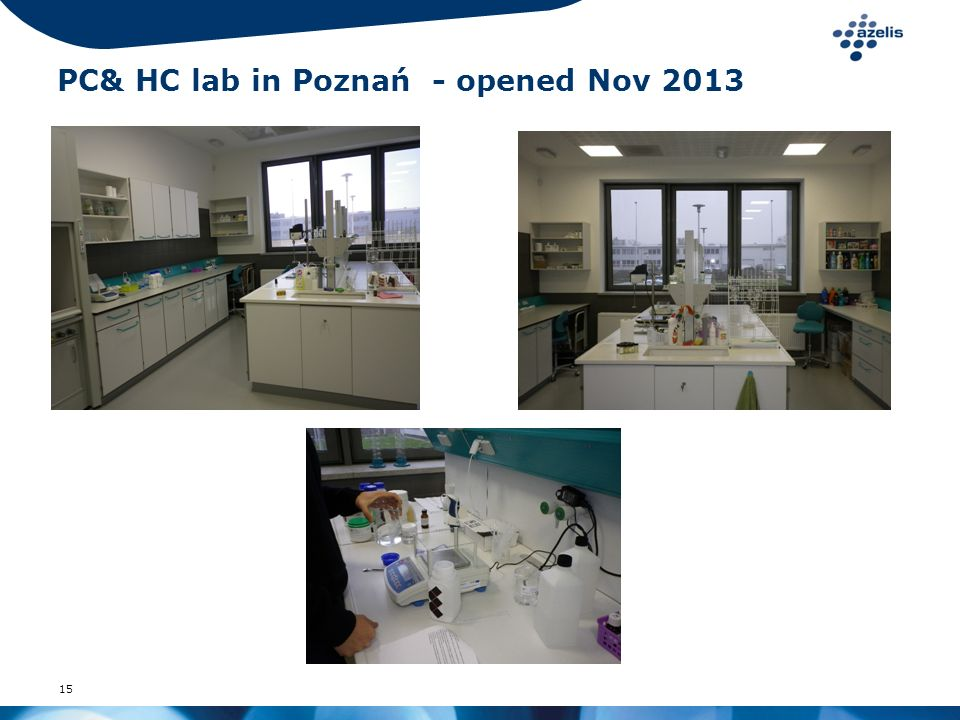 PC& HC lab in Poznań - opened Nov 2013
