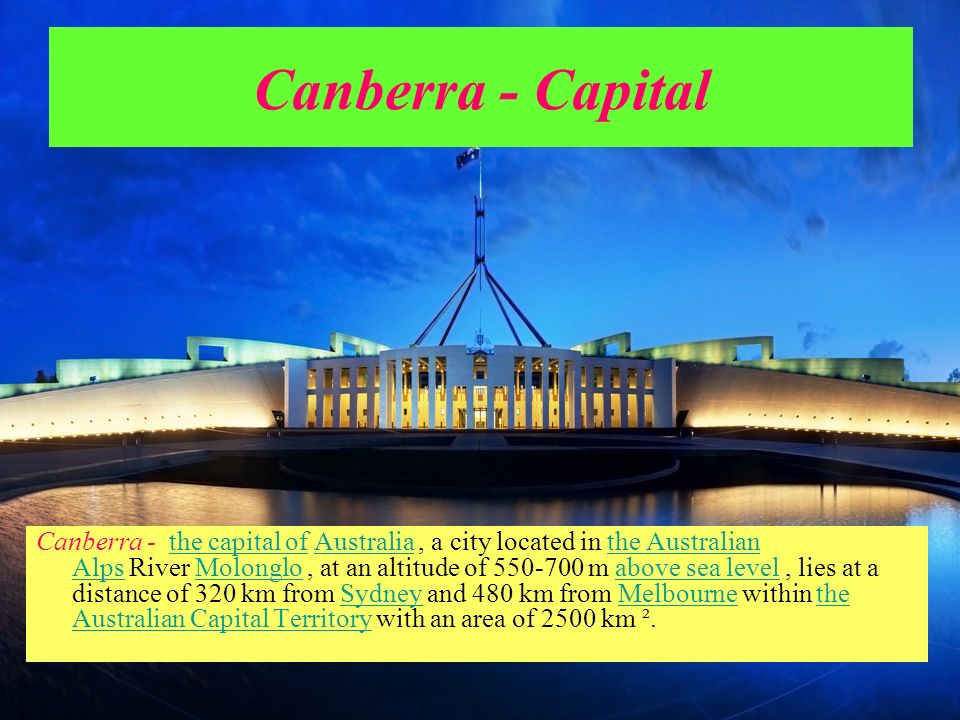 Canberra - Capital