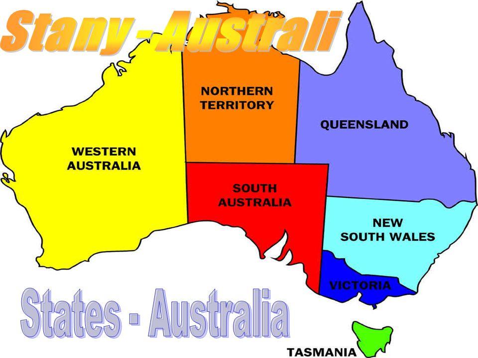 Stany - Australi States - Australia