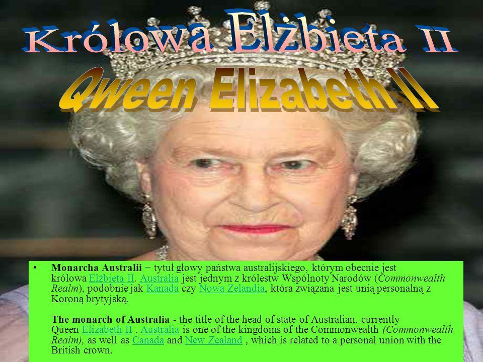 Królowa Elżbieta II Qween Elizabeth II