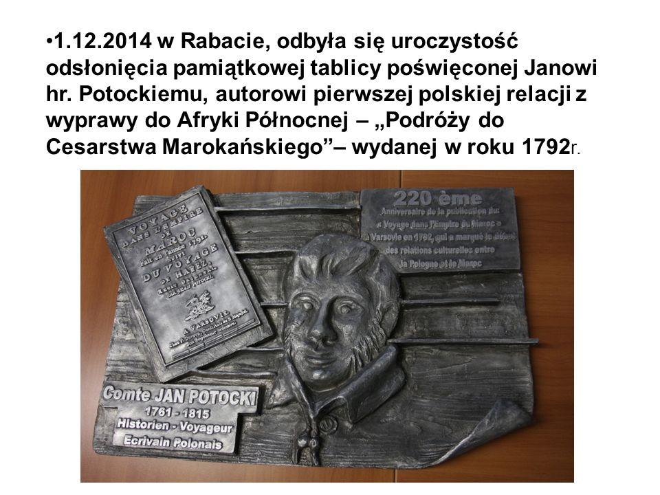 1.12.2014 w Rabacie, odbyła się uroczystość odsłonięcia pamiątkowej tablicy poświęconej Janowi hr.