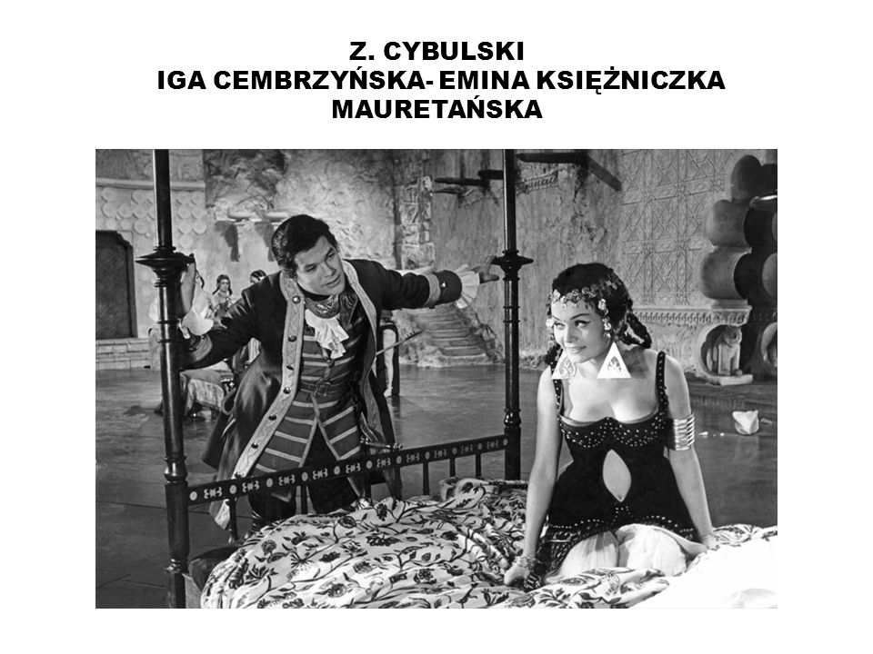 Z. CYBULSKI IGA CEMBRZYŃSKA- EMINA KSIĘŻNICZKA MAURETAŃSKA