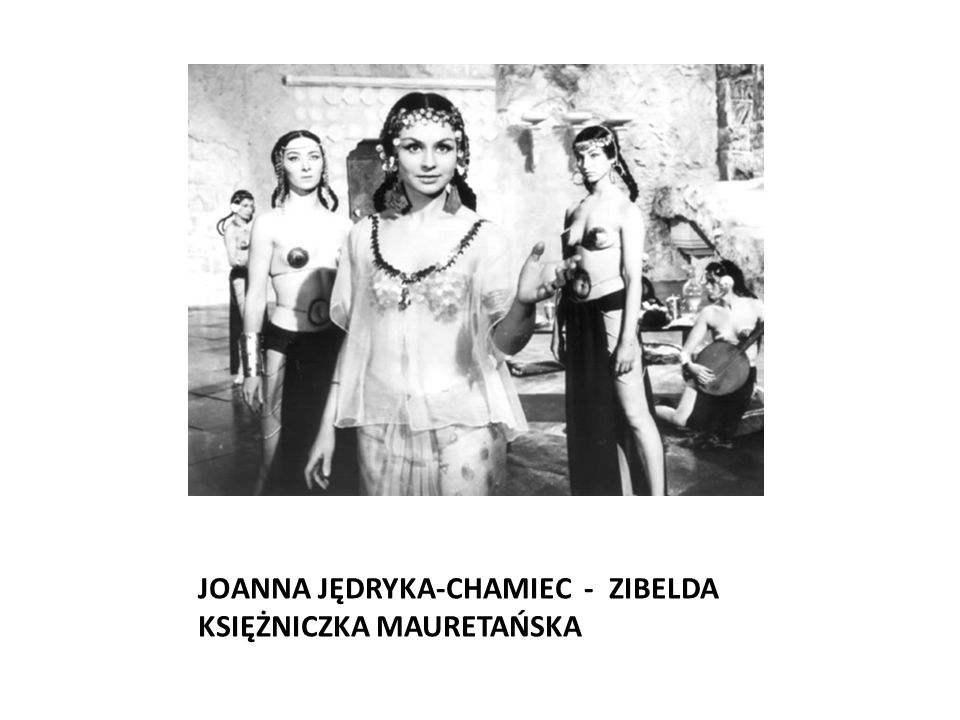 JOANNA JĘDRYKA-CHAMIEC - ZIBELDA KSIĘŻNICZKA MAURETAŃSKA