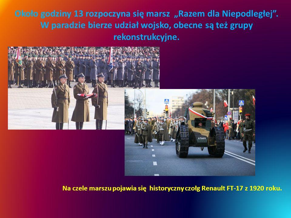 """Około godziny 13 rozpoczyna się marsz """"Razem dla Niepodległej"""