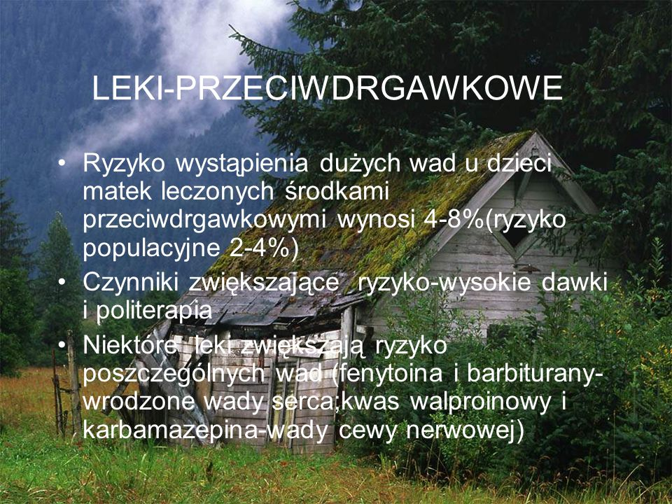 LEKI-PRZECIWDRGAWKOWE