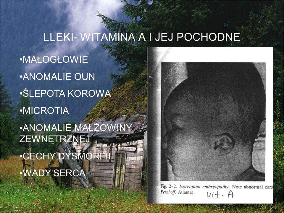 LLEKI- WITAMINA A I JEJ POCHODNE