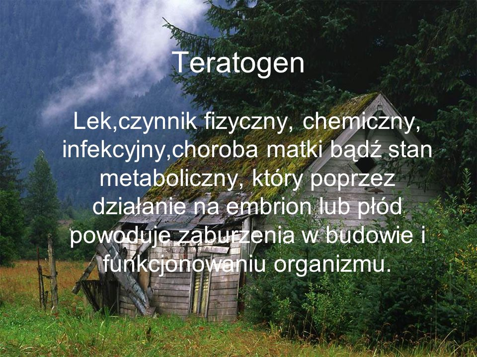 Teratogen