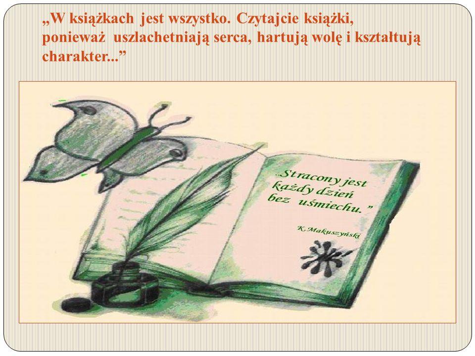 """""""W książkach jest wszystko"""