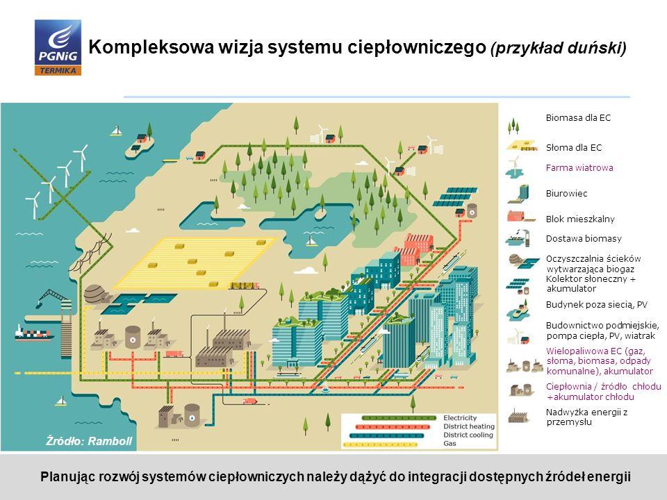 Kompleksowa wizja systemu ciepłowniczego (przykład duński)