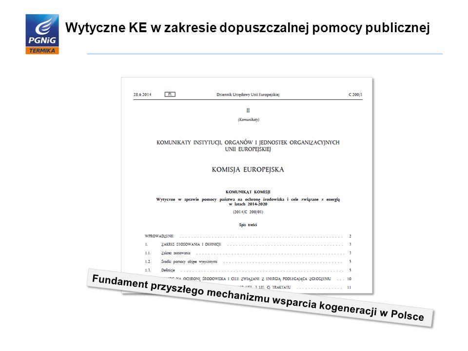 Wytyczne KE w zakresie dopuszczalnej pomocy publicznej