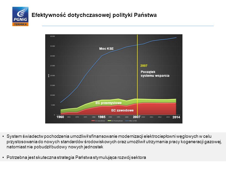 Efektywność dotychczasowej polityki Państwa