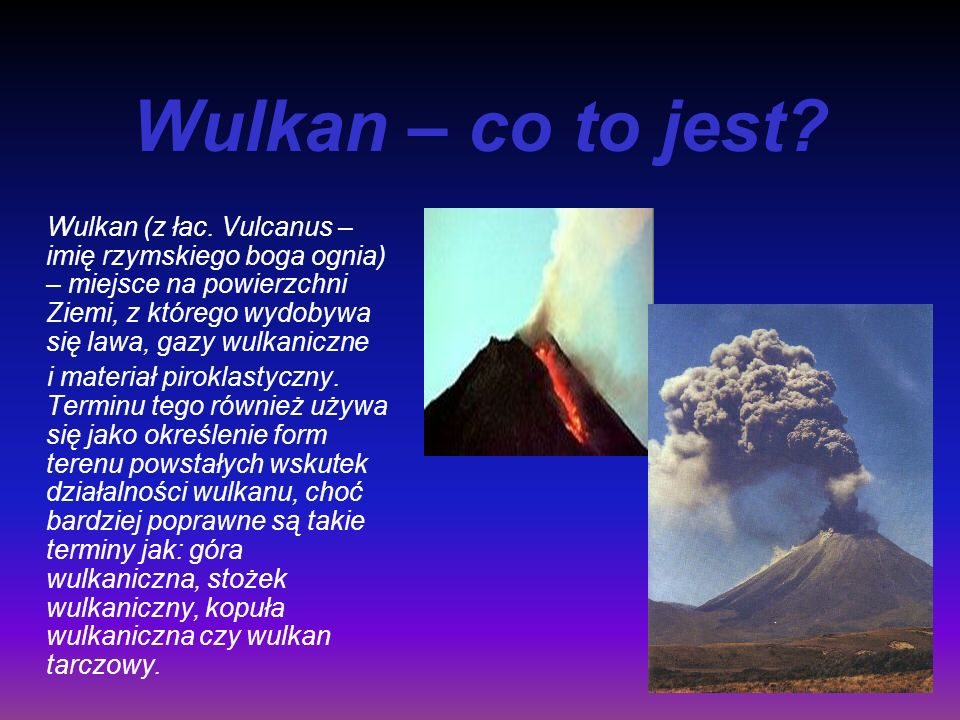 Wulkan – co to jest