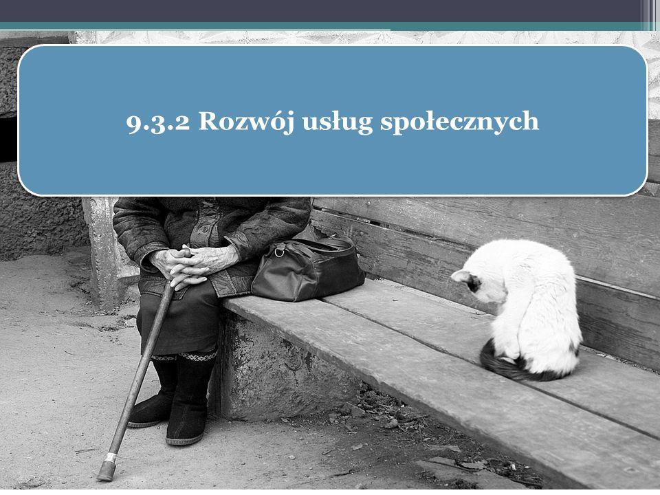 9.3.2 Rozwój usług społecznych