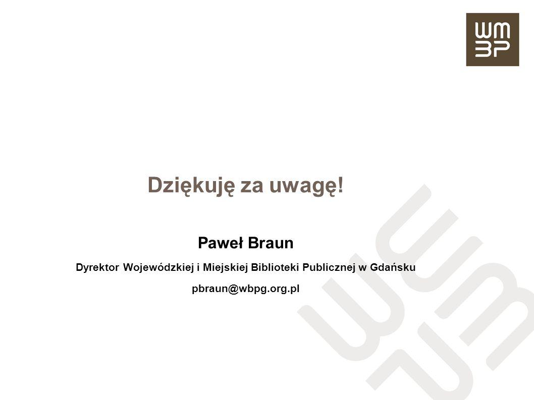 Dyrektor Wojewódzkiej i Miejskiej Biblioteki Publicznej w Gdańsku