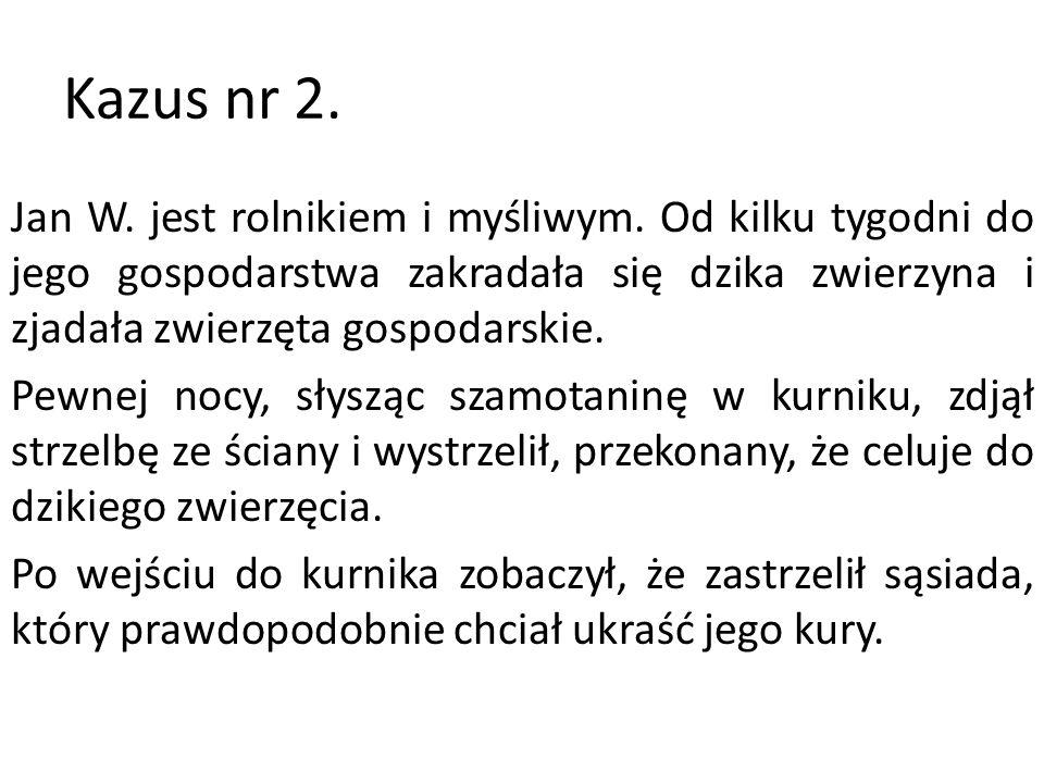 Kazus nr 2.