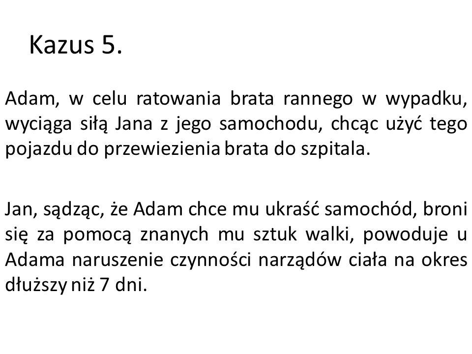 Kazus 5.