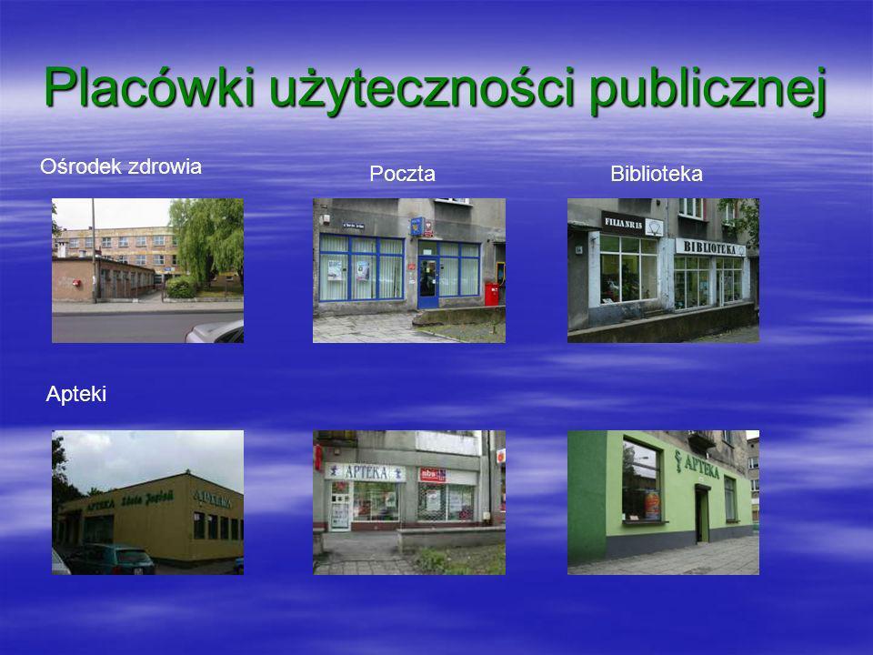 Placówki użyteczności publicznej