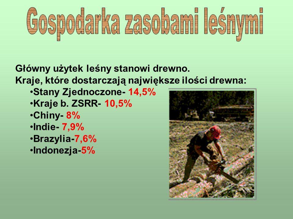 Gospodarka zasobami leśnymi