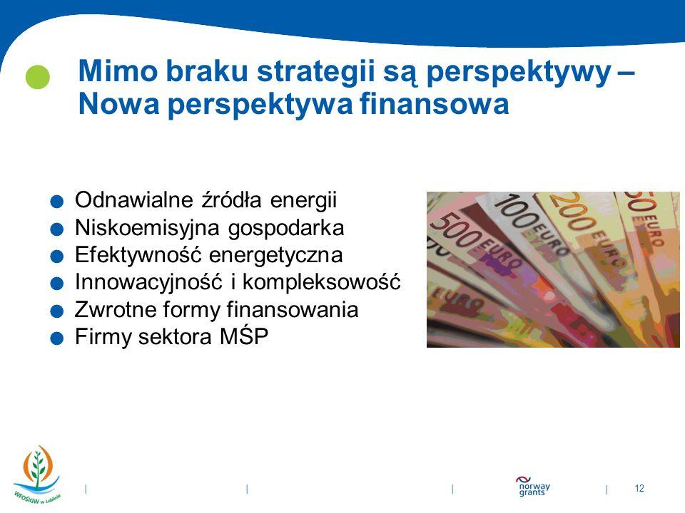 Mimo braku strategii są perspektywy – Nowa perspektywa finansowa