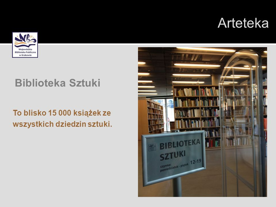 Arteteka Biblioteka Sztuki