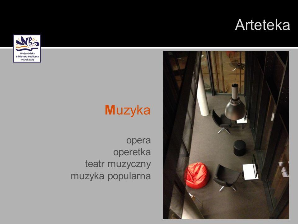 Arteteka Muzyka opera operetka teatr muzyczny muzyka popularna