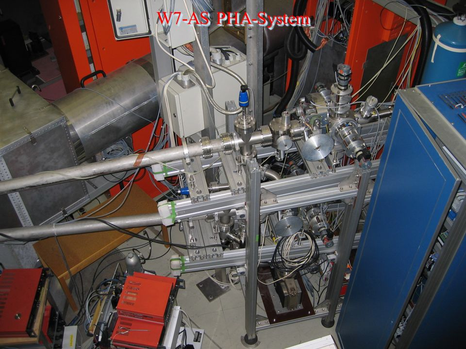 W7-AS PHA-System Institute of Plasma Physics EURATOM