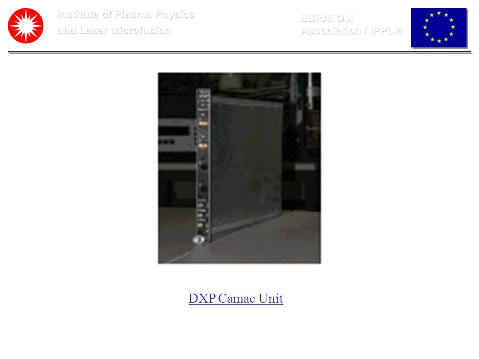 DXP Camac Unit Institute of Plasma Physics EURATOM