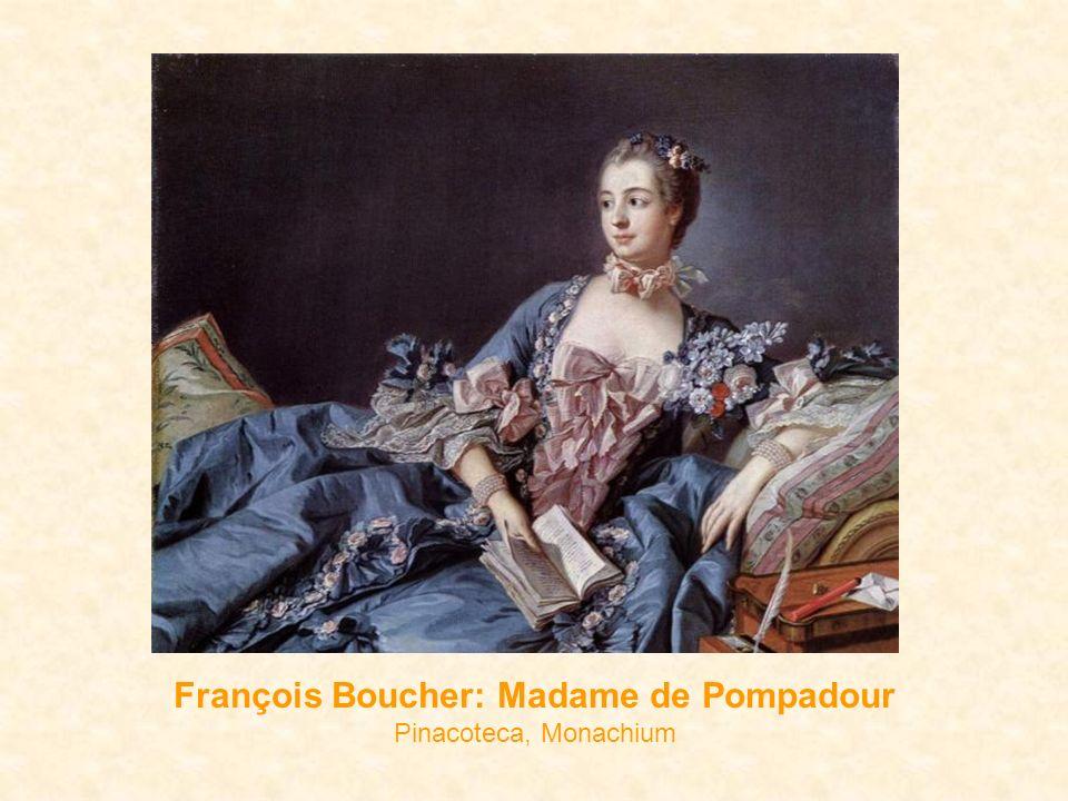 François Boucher: Madame de Pompadour